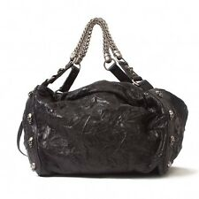 THOMAS WYLDE skull chain leather bag(K-17504)