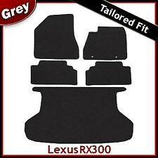 Lexus RX300 Tailored Fitted Carpet Car + Boot Mats GREY (2003...2007 2008 2009)