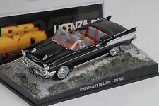 Movie James Bond CHEVROLET BEL AIR 1957 BLACK/Dr. no 1:43 IXO