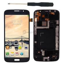 New LCD Digitizer Screen Assembly + Frame for Samsung Galaxy Mega 5.8 i9152 Blue
