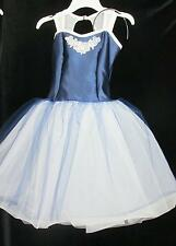 Shine Dress Up Royal Satin Long Curtain Call Costume Ballet CMED