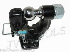 """PINTLE HOOK 2"""" BALL COMBO TRAILER HITCH TOWING 10,000 lbs Capacity"""