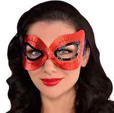 Womens Spider Girl Spiderman Eye-Mask Costume Accessory