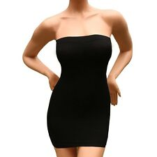 Sexy Slimming Tube Top Stretch Strapless Tight Fitted Slip Mini Dress SS-W03