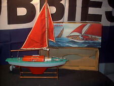 Toy Sail Boat with Battery Operated Motor