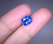 Unheated / Untreated Natural Vivid Blue Ceylon Sapphire 2.51 Ct. (00733)