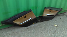 BMW E46 Rear Coupe  Door Panel Passenger and Driver Set 'NatuBrown' leather