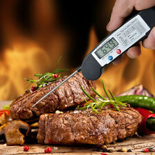 Instant Read Magnet Digital Meat BBQ Foldable Grill Thermometer with Probe New