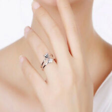 Fashion 925 Sliver Plated Opening Adjustable Fox Ring As a gift Hot Sale