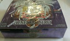 Yugioh First Edition Elemental Energy English Booster Box 1st edition 24ct L@@K