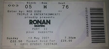 TICKET RONAN KEATING - 13-05-2001 - WEMBLEY - USED