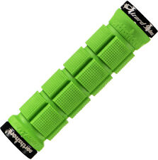 Lizard Skins North Shore NorthShore Lock-On Mountain Bike MTB Grips Lime Green