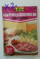 Lot of 2 LOBO Nam Powder Seasoning Mix 2.4oz