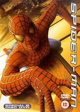 Spider-Man (DVD, 2002, 2-Disc Set)  Tobey Maguire, Willem Dafoe, Kirsten Dunst