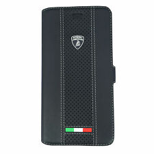 GENUINE LAMBORGHINI ESTOQUE LEATHER IPHONE 6 PLUS /6S PLUS (5'5) BOOK CASE COVER