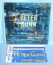 1959 Peter Gunn TV Theme 14 piece Orchestra Music & Original Soundtrack Record