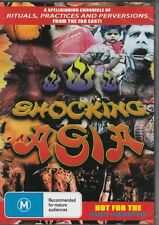SHOCKING ASIA - DOCUMENTARY OF THE WEIRD AND PERVERSE - NEW & SEALED DVD