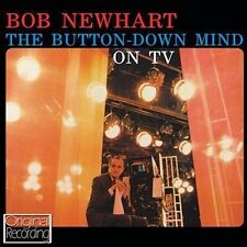 CD BOB NEWHART BUTTON DOWN MIND ON TV INTRODUCING TOBACCO SIAMESE CAT ETC
