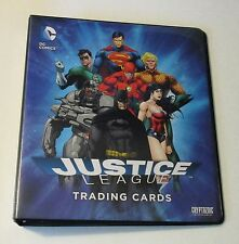 2016 DC Comics: Justice League Trading Card (Binder Only)