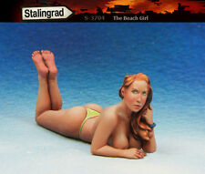 1/35 Scale resin model kit The Beach Girl #4