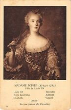 BF38120 madame sophie fille de louis XV nattier  france queen king royalty