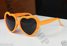 Retro Love heart shape Lolita sunglasses fashion Fancy dress Party
