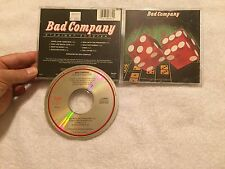 BAD COMPANY CD SANYO JAPAN STRAIGHT SHOOTER AUDIOPHILE TARGET ERA SWAN SONG