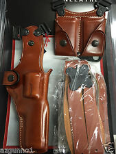 "Galco Vertical Shoulder Holster, Ambi Tan for S&W 4"" K & L Frames VHS104"