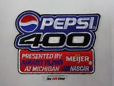 2001 Pepsi 400 Presented by Meijer Collector Emblem Patch Nascar