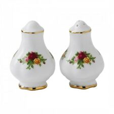 Royal Albert Old Country Roses SALT AND PEPPER SET NEW (s)