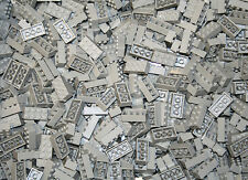 200 Stone Gray Blocks, Compatible to Lego 2x4 Brick 3001 Bulk Lot Deal