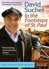 DVD: David Suchet: In The Footsteps of St. Paul, Martin Kemp. Good Cond.: David