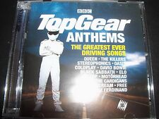 Top Gear Anthems Various 2 CD Hawkwind Oasis ZZ Top The Killers Blur – New