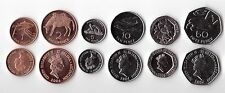 SAINT HELENA - 6 DIF UNC COINS SET: 1 - 50 PENCE 2006 YEAR ANIMALS