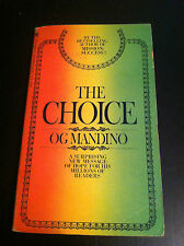 The Choice by Og Mandino (paperback) store#2897
