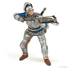"Crossbowman With Armor Blue 3.14"" Knights And Castles Papo 39753"