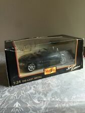 Maisto 1:24 Die Cast BMW Z4 Special Edition 31215 In Box Advertising On Hood
