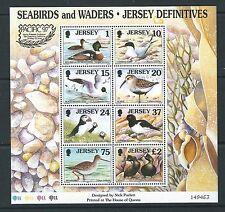 JERSEY 1997 uccelli marini e trampolieri Pacific 1997 miniatura FOGLIO. Unmounted menta, MN