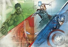 AVENGERS Graphic Art by Marvel Photo Carta Da Parati Murale Parete fatta da KOMAR 368X254