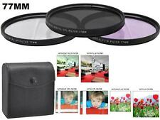 77mm Pro Series 3PC Filter Kit (UV CPL FLD) for Nikon 70-200mm f/2.8G VR Lens