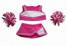"Teddy Bear PINK & WHITE Cheerleader CLOTHES Fit 14""-18"" Build-a-bear !!NEW!!"