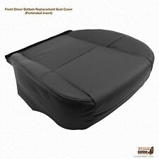 2007 2008 Cadillac Escalade EXT ESV Driver Side Bottom Leather Seat Cover Black
