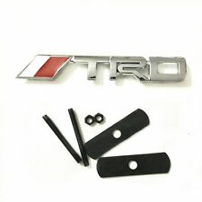 for Toyota TRD car front grill grille emblem badge chrome Camry Corolla Yaris