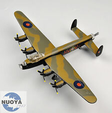 1:144 Atlas WWII Avro Lancaster Mkll Military Army Fighter Aircraft Diecast Toys