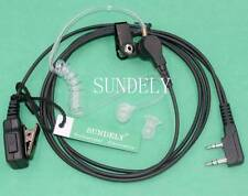 SUNDELY 2-Wire Acoustic Headset/Earpiece Midland/Alan Radio CT210 CT410 CT790