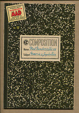 MAD #20 - Composition Notebook Cover - 1954 (Grade 6.5) WH