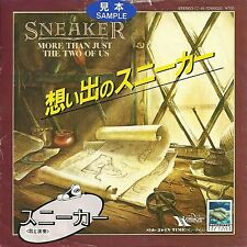 "Sneaker - More than just the two of us  JAPAN 7"" PROMO"