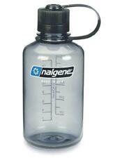 Nalgene Narrow Mouth Tritan Bottle, Grey, 1L