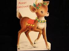 """VINTAGE """"TO A 'DEER' LITTLE SOMEONE!!"""" CHRISTMAS GREETING CARD"""