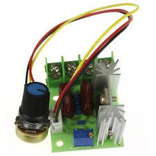AC 220V SCR Eléctrico Tensión Regulador Velocidad Motor 2000W Controlador